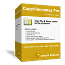 CopyFilenames Pro box shot